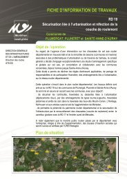 RD19 - Conseil général du Morbihan