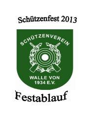 Ablauf Schützenfest 20138 - Gemeinde Winsen (Aller)