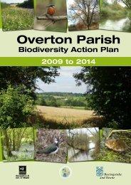 Overton Biodiversity Action Plan - Basingstoke and Deane Borough ...