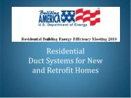 Residential Duct Systems for - EERE - U.S. Department of Energy