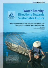 Water Scarcity: Directions Towards Sustainable Future - APCEIU