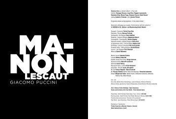 Dramma lirico w czterech aktach / in four acts Libretto: Giuseppe ...