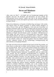 Neuer Bericht von Dr. Konrad - Jürgen Kleinicke - Heinz G. Klug