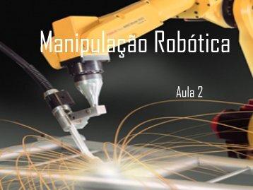 2) Robôs Manipuladores