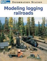 Modeling logging railroads - Thailand Model Railroad