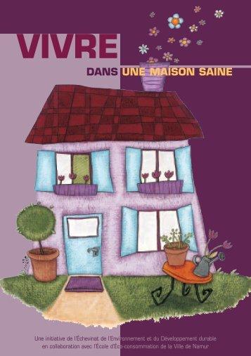 Vivre dans une maison saine - Environnement Namur