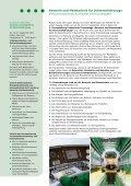 Flyer der Fokussierten Thementage Sensorik und Messtechnik - Seite 2