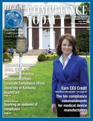 Kimberly Johnson, RHIA, CPC, CHC - Health Care Compliance ...