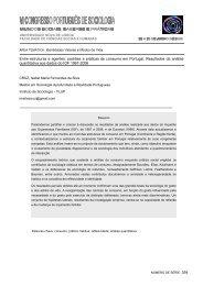 Entre estruturas e agentes: padrões e práticas de consumo em ...