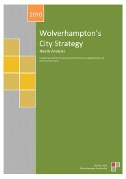 Wolverhampton's City Strategy - Wolverhampton Partnership