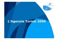 L'Agenzia Torino 2006 - PMI-NIC