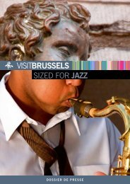 sized for JAZZ - VisitBrussels