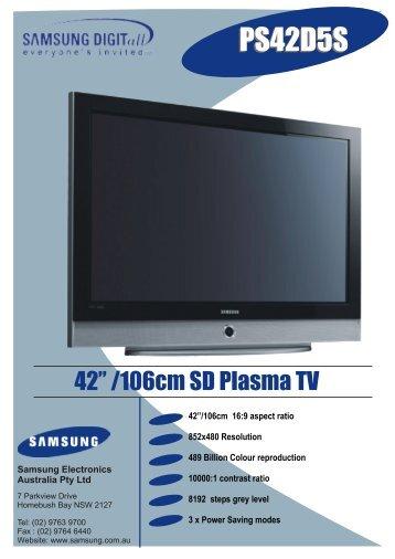 PS42D5S - OSCS