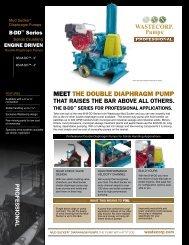 MEET THE DOUBLE DIAPHRAGM PUMP - Wastecorp Pumps