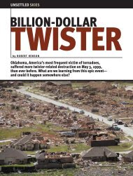 Billion-Dollar Twister - Department of Atmospheric Sciences