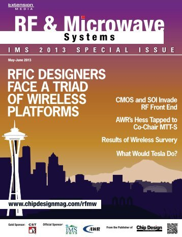 rfic designers face a triad of wireless platforms - Subscribe