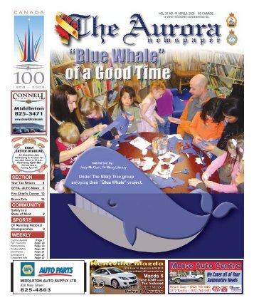Apr 6 2009 - The Aurora Newspaper