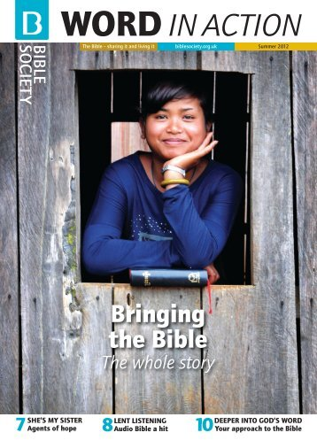 Summer 2012 - Bible Society