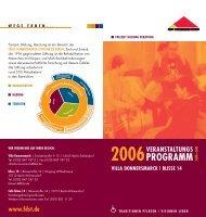 2006veranstaltungs - Fürst Donnersmarck Stiftung