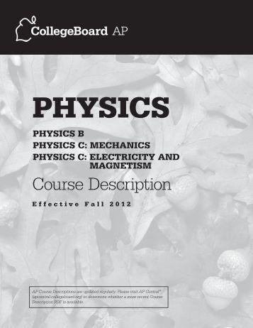 ap physics essay
