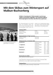 Mit dem Skibus zum Wintersport auf Malbun-Buchserberg
