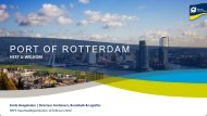 trends en ontwikkelingen - Port of Rotterdam