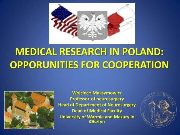 medical research in poland