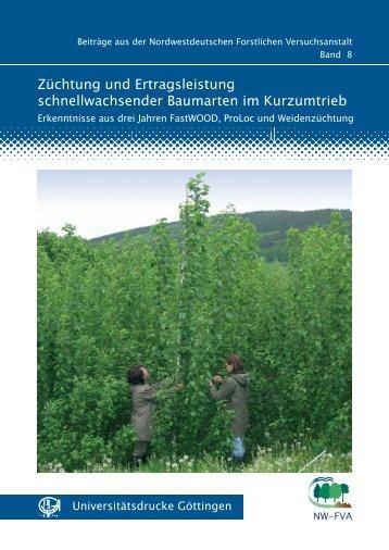 Züchtung und Ertragsleistung schnellwachsender Baumarten im ...