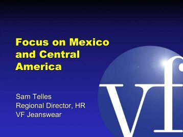 Focus on Mexico and Central America