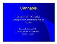 Cermak - Cannabis - California Society of Addiction Medicine