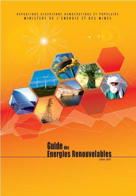 Guide - Ministère de l'énergie et des mines