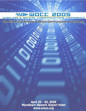 The 14th Annual Wireless and Optical Communications Conference
