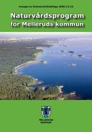 Naturvårdsprogram - Mellerud