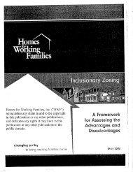 Inclusionary Zoning - WordPress – www.wordpress.com