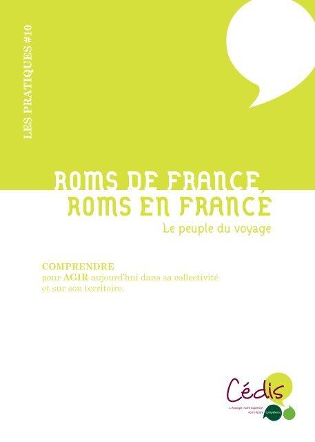 ROMS DE FRANCE, ROMS EN FRANCE - Cédis Formation