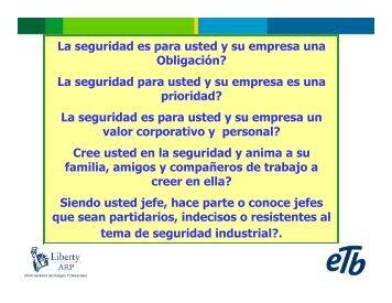 Programa Lideres En Seguridad Industrial - Consejo Colombiano ...