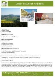 Erzgebirge für Alle - Eventreisen - Trierischer Volksfreund