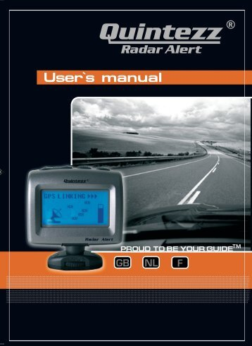 Radar Alert manual GB - Quintezz
