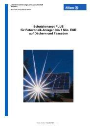 PV-Schutzkonzept PLUS bis 1 Mio_ AO Stand ... - Global Energy