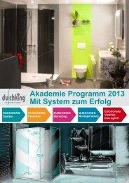 Duschking-Akademie-Unterlage