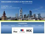 Elektromobilität in Frankfurt am Main (EFM 2013) - Bundesverband ...