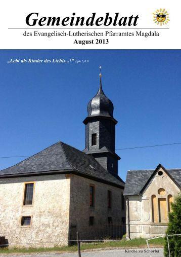 08/13 - Kirchspiel Magdala/Bucha