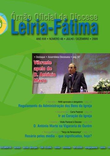 Vibrante apelo de D. António Marto - Diocese Leiria-Fátima