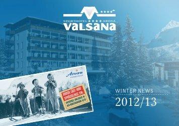 WINTER NEWS - Sporthotel Valsana
