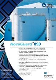 Fully compatible with bioFuel StoRaGe Solvent ... - Sigma | coatings