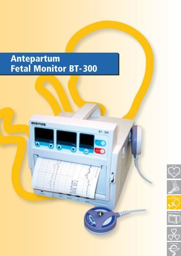 Specifications Antepartum Fetal Monitor BT-300