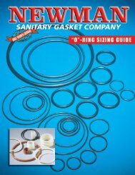 Sizing Guide - Newman Sanitary Gasket Company