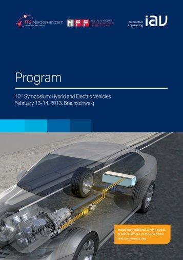 Program - ITS Niedersachsen