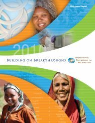 2010 IPM Annual Report - International Partnership For Microbicides