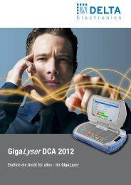GigaLyser DCA 2012 - DCT Delta